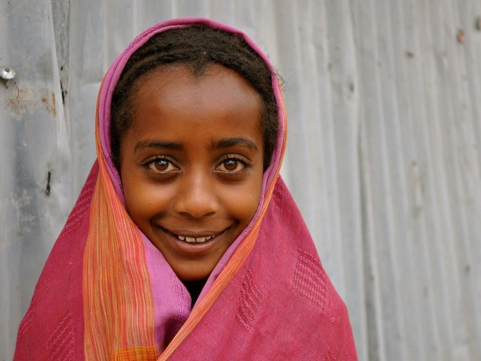 Photo: Young girl from Niger