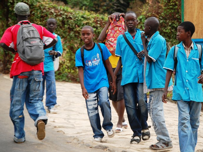 Photo: Young boys in Senegal