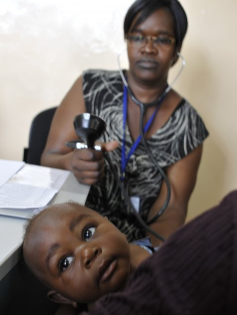 baby doctor clinic malaria