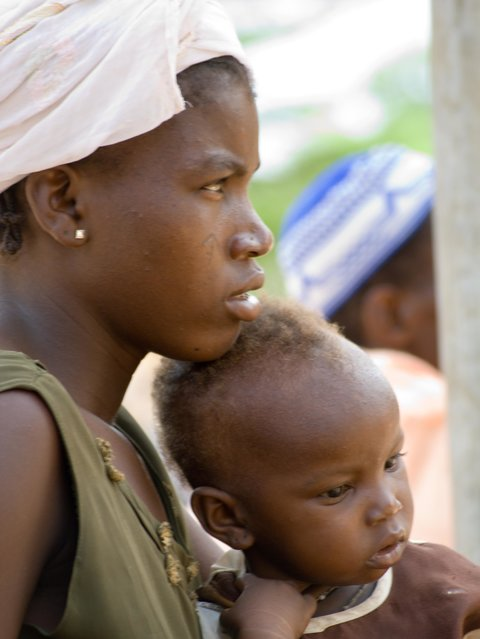 Photo: mother and child Africa